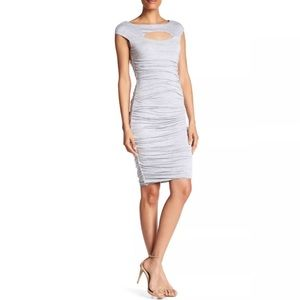 Bailey 44 Cap Sleeve Front Cutout Dress
